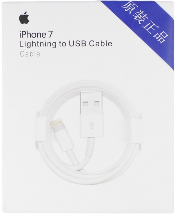 Дата-кабель USB Apple iPhone 5 Белый